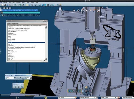 Эмулятор контроллера IMSce™ обеспечивает возможность проверки в процессе движения станка
