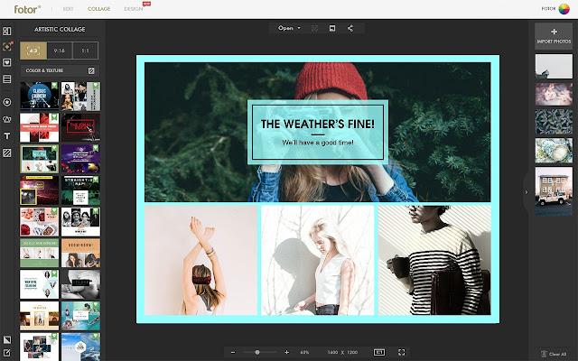 Fotor S Collage Maker