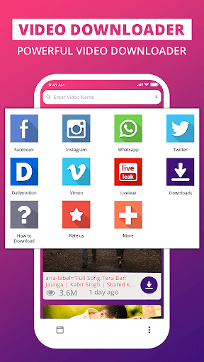 HD video download - Free Video downloader 1.3 screenshots 1