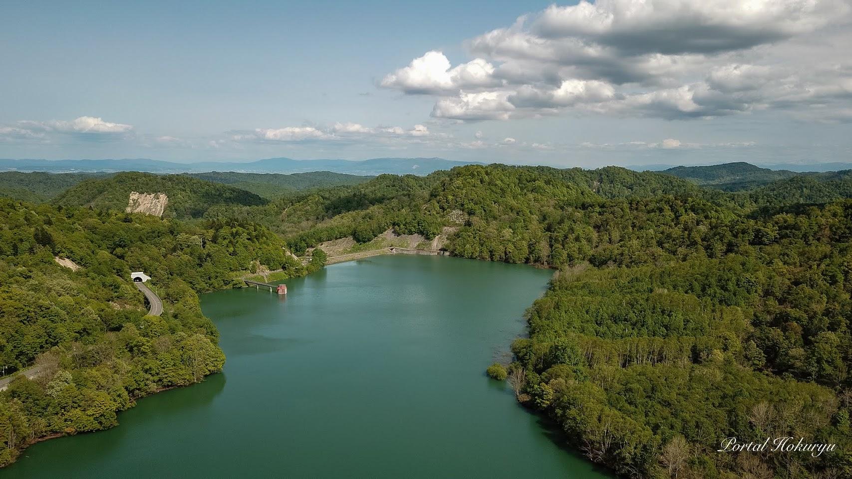 恵岱別ダム湖