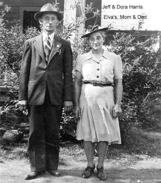 Photo: Jeff & Dora Harris -  Elva's mom & Dad. http://CanaanUMC.net