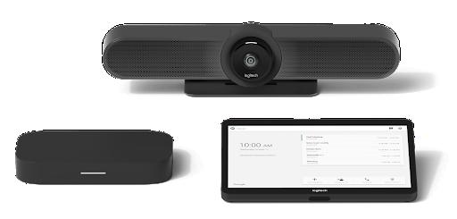 Google Meet hardware Logitech small room solution