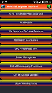 MediaTek Engineer Mode Pro screenshot 7