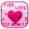 Rose Delicate Heart Keyboard Theme