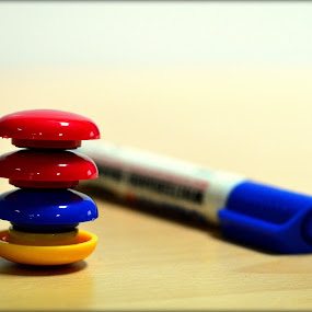 U n Me by Biswajit Chatterjee - Artistic Objects Other Objects ( office, marker, proffesional, desk magnets, desk )
