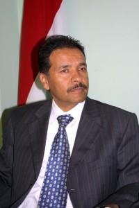 الاستاذ محمد عبدالله الاهجري امين عام اللجنة الاولمبية