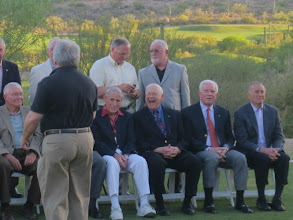 Photo: Setting up the astronaut group photos... wonder what Alan Bean found so funny??