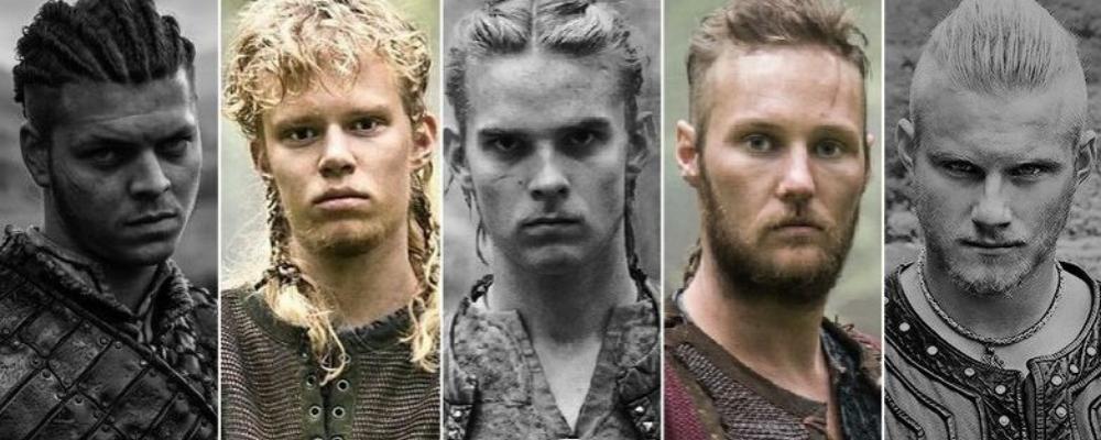 Young viking raiders