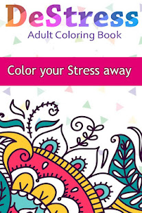 DeStress - Adult Coloring Book - Apps on Google Play