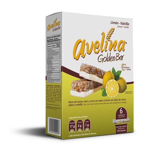 cereal avelina golden bar limon 156gr