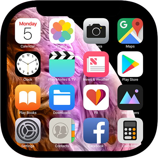 OS 12 Launcher - Phone XS Style