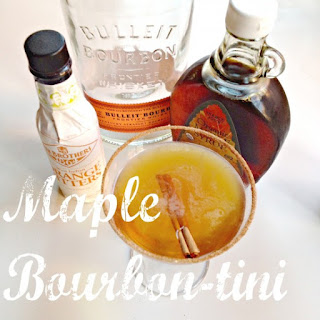A Maple Bourbon Cocktail