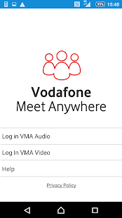 Vodafone Meet Anywhere- screenshot thumbnail