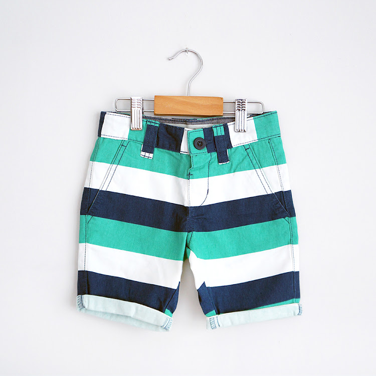 Striped Shorts by FirstJoy Asia Sdn Bhd