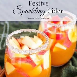 Festive Sparkling Cider.