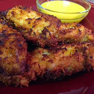 Crispy Coconut Chicken Fingers