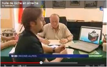 Photo: 03/07/11..France 3. INTERVIEW. Les élus du sud Ardèche mobilisés:  http://librespace.com/fr/librespace/societe/279/Gaz-ou-huile-de-schiste-en-Ard%C3%A8che-la-menace-se-pr%C3%A9cise-huile-de-roche-ard%C3%A8che.htm