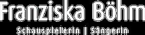 Franziska Böhm Logo weiß