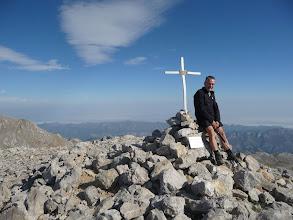 Photo: En la cima de la Silla del Caballo Cimero de 2434 metros, la tercera cima del día.