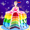 Rainbow Doll Cake bakery Game - Bricoler Cuisine E APK