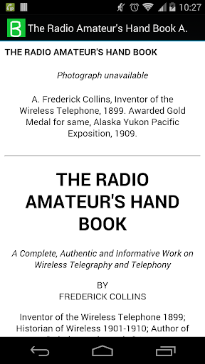 The Radio Amateur's Hand Book