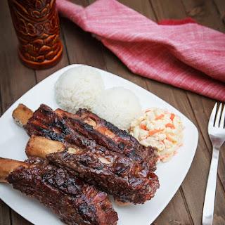 Instant Pot Teriyaki BBQ Beef Ribs.