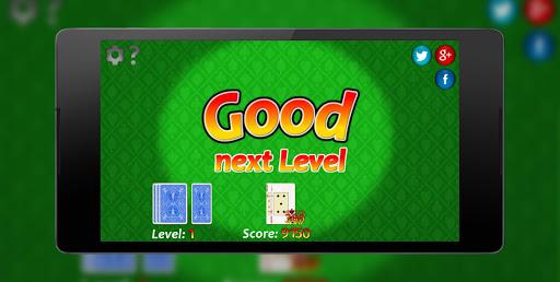 TriPeaks Solitaire ♣ Free Card Game  captures d'écran 1