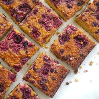 Orange, Almond and Raspberry Cake.