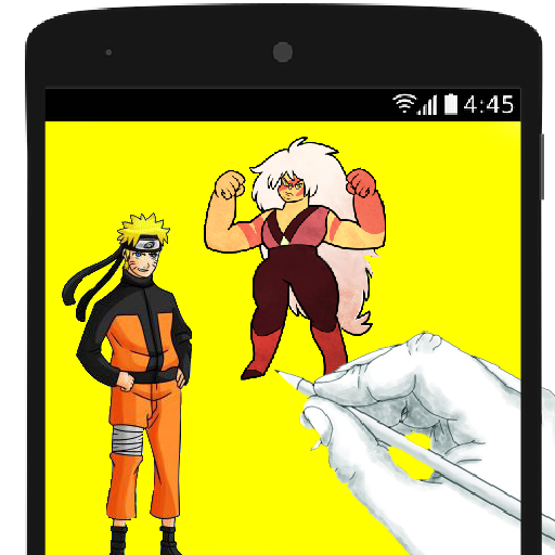 How To Draw Cartoon and Naruto 遊戲 App LOGO-硬是要APP