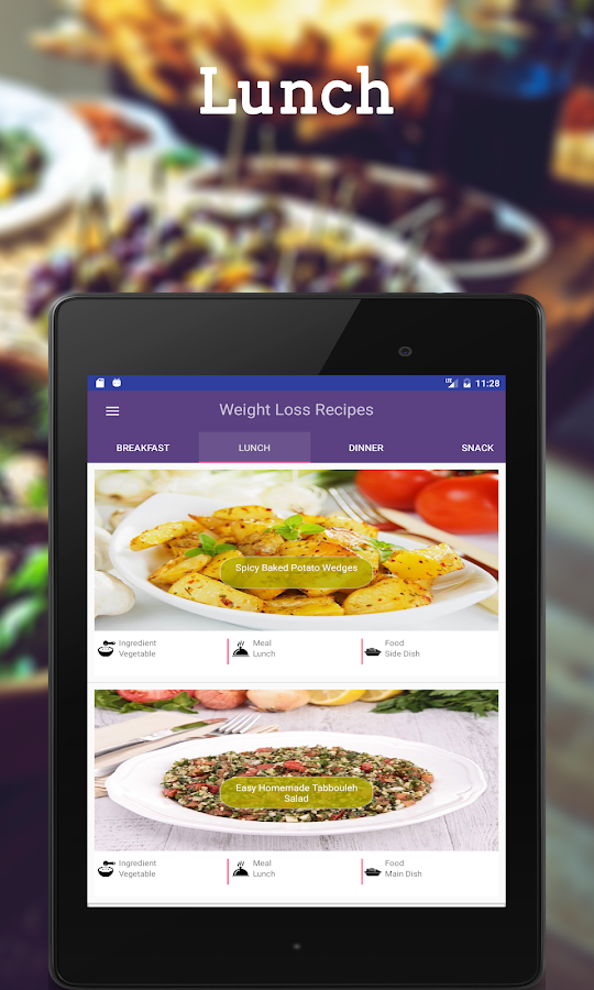 Healthy Recipes: Weight Loss- screenshot
