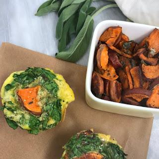 5-Ingredient Sweet Potato and Sage Egg Muffins