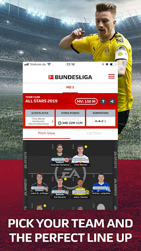 Official Fantasy Bundesliga screenshots 2