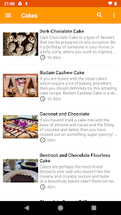 App Desserts Recipes Collection APK for Windows Phone