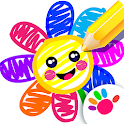 Toddler Drawing Academy🎓 Coloring Games for Kids icon