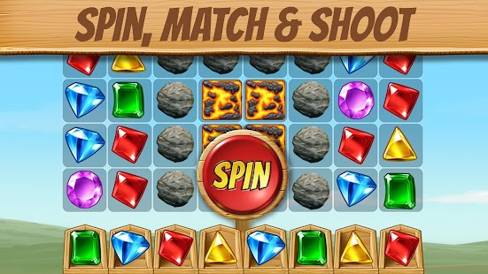 Cascade: Spin & Match Gem Puzzle App- screenshot thumbnail