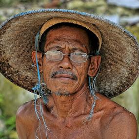 by Chusnul Hidayat - People Portraits of Men