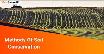 Methods Of Soil Conservation