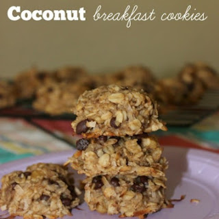 Flourless Oatmeal Coconut Breakfast Cookies