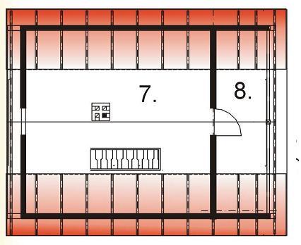 BR-171 - Rzut poddasza