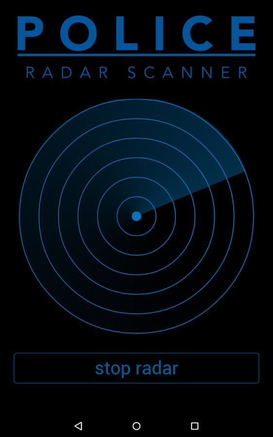 Police Radar Detector App >> Police Radar Scanner simulated - Android Apps on Google Play