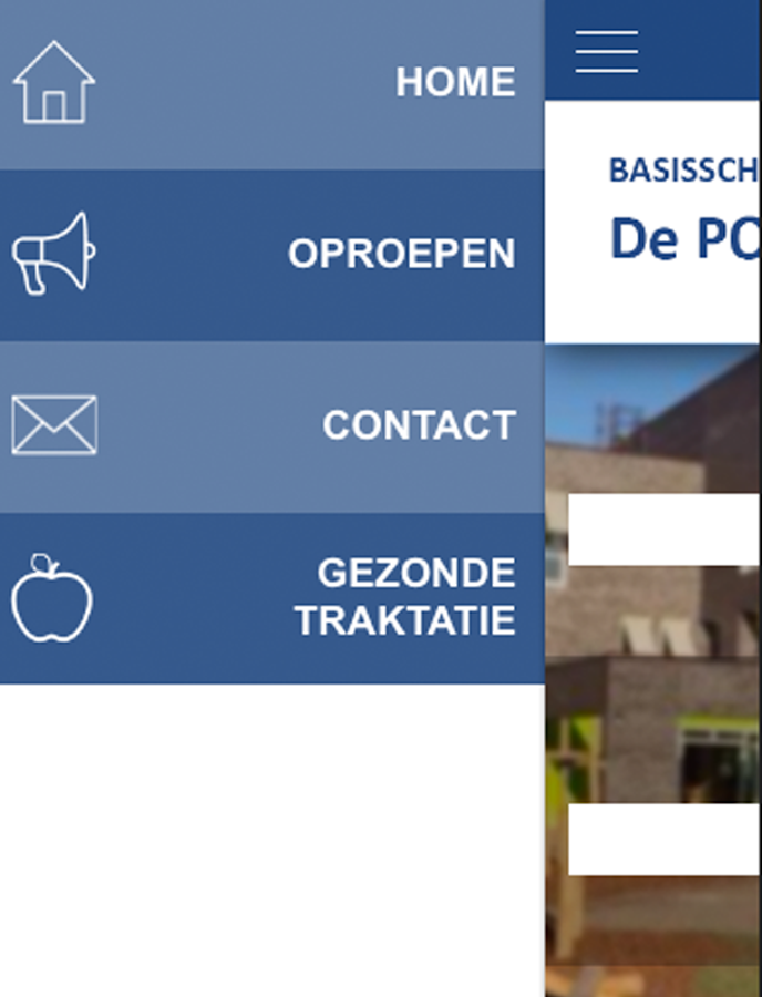 De Poseidon School App- screenshot