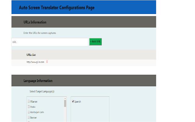 Auto Screenshot Translator Extension