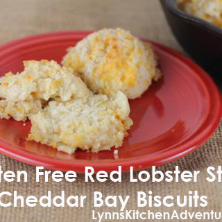 Gluten Free Red Lobster Style Cheddar Bay Biscuits