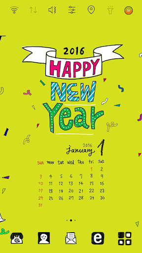 LaRa Calendar-HappyNewYear2016