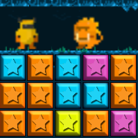 PopStar Fighters:Puzzle Battle