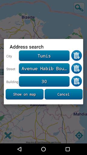 map of tunisia offline screenshot 3