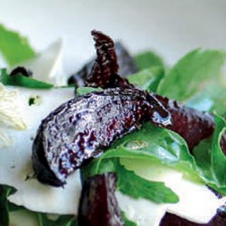 Balsamic Roasted Beetroot With Goat's Cheese And Rocket