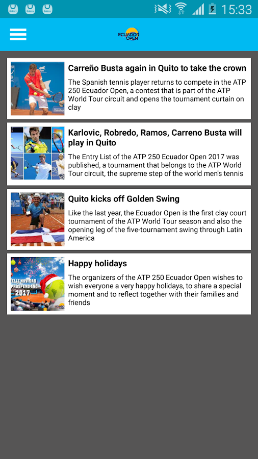 Ecuador Open- screenshot