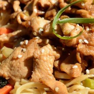Skillet Chicken Bulgogi.
