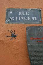 Photo: Street art - -Paris XVIIIe - rue St Vincent